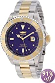 Invicta Men's 12818 Pro Diver Blue Dial Diamond Accented Watch