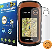 3x Garmin eTrex 10 20 30 Handheld GPS Premium Clear LCD Screen Protector Cover Guard Shield Protective Film, 100% Fit, no cutting! (3 Pieces)