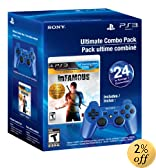 Ultimate Combo Pack - Infamous 1&2 Dual Pack & Blue Dualshock 3 - Playstation 3