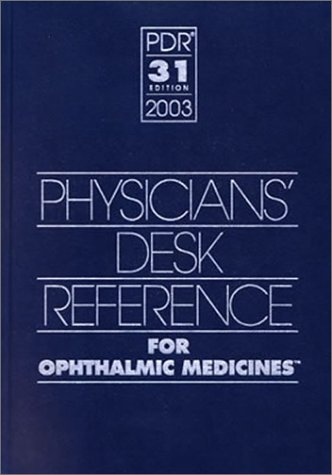 physicians-desk-reference-for-ophthalmic-medicines-2003