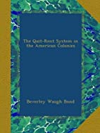 The Quit-Rent System in the American…