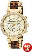 Michael Kors Collection Women's MK5688 - Parker Chronograph Gold /Tortoise Watch