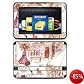"""DecalGirl Skin (autocollant) pour Kindle Fire HD 8,9"""" - """"Paris Makes Me Happy"""" (compatible uniquement avec Kindle Fire HD 8,9"""")"""
