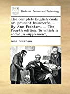 The Complete English Cook; or, Prudent…