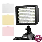 Chromo Inc.® 160 LED CI-160 Dimmable Ultra High Power Panel Digital Camera / Camcorder Video Light, LED Light for Canon, Nikon, Pentax, Panasonic,SONY, Samsung and Olympus Digital SLR Cameras