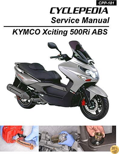 2009-2012 KYMCO Xciting 500Ri / 500Ri ABS Service Manual