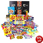 The Best Ever Retro Sweets GIANT Treasure Gift Box - The Original Sweet Shop in a Box! - Perfect gift idea for women and men, boys and girls, him or her