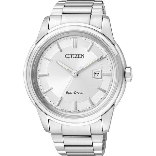 citizen 西铁城 手表 光动能蓝宝石玻璃男士手表aw1120-59a