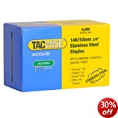 Tacwise 140/10mm. Stainless Steel Staples. Type T50. G11. Staple Gun. 140 Staple.