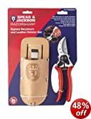 Spear & Jackson Bypass Secateurs and Leather Holster Set