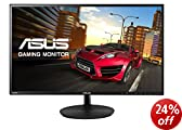 Asus VN247H 23.6-inch Widescreen LED Multimedia Monitor (1920x1080, 1ms, 2x HDMI, VGA, Full HD 1080p, Super Narrow Frame)