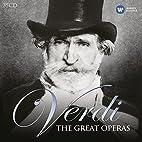 Verdi: Great Operas by Giuseppe Verdi