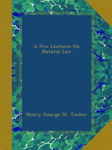 a-few-lectures-on-natural-law