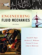 Engineering Fluid Mechanics, 10th Edition by…