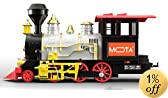 Christmas Santa Holiday Classic Train with Sound, Light, and Real Smoke by MOTA