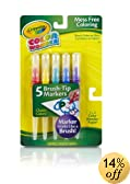 Crayola Classic Color Wonder Brush Tip Markers