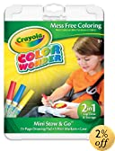 Crayola Color Wonder Mini Stow and Go Studio Coloring Kit