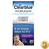 Clearblue Advanced Digital Ovulation Test, 20 Count