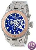 Invicta Men's 14035 Subaqua Reserve Chronograph Blue Dial Stainless Steel Watch
