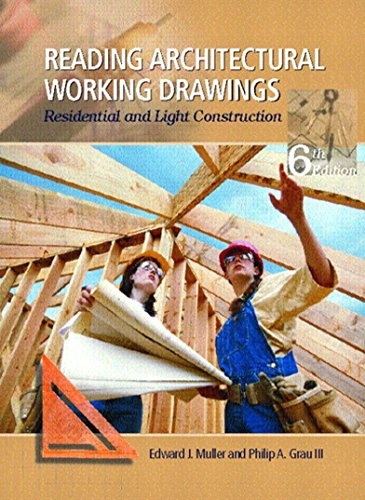 reading-architectural-working-drawings-residential-and-light-construction-volume-1