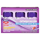 Rite Aid Brand Acid Relief, Omeprazole or Laxative Relief, $15.00