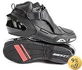 Joe Rocket Velocity VX-2 Men's Hybrid Boots (Black, Size 10)