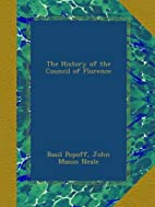 The History of the Council of Florence by…
