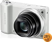"""Samsung WB250F 14.2MP CMOS Smart WiFi Digital Camera with 18x Optical Zoom, 3.0""""  Touch Screen LCD and 1080p HD Video (White) (OLD MODEL)"""