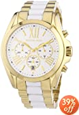 Women's Chronograph Light Silver Dial Two Tone Stainless Steel