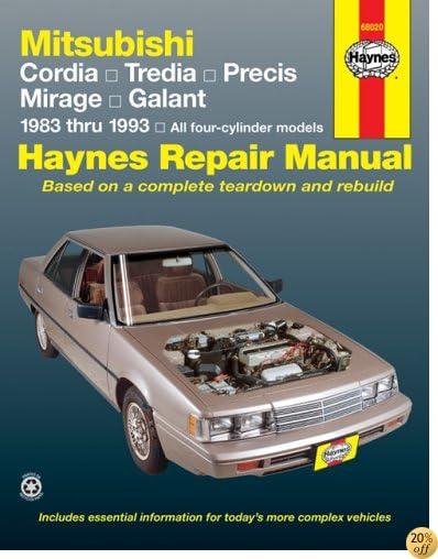 Mitsubishi Cars, '83'93 (Haynes Manuals)