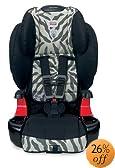 Britax Frontier 90 Booster Car Seat, Zebra