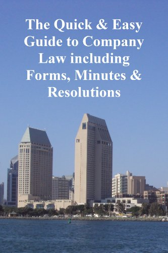 the-quick-and-easy-guide-to-company-law-including-forms-minutes-resolutions