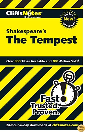 TCliffsNotes on Shakespeare's The Tempest