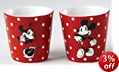 Enchanting Disney Mickey and Minnie Egg Cups, Set of 2