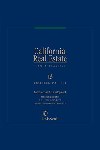 california-real-estate-law-and-practice-volume-13