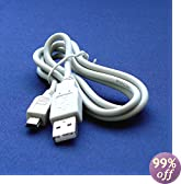 Canon PowerShot A2500 Digital Camera Compatible USB 2.0 Cable Cord - IFC-400PCU & IFC-300PCU Model - 2.5 feet White - Bargains Depot®