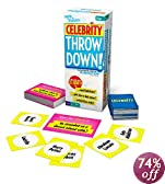 Buffalo Games Celebrity Throw Down Board Game