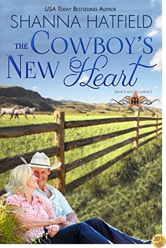TThe Cowboy's New Heart (Grass Valley Cowboys Book 5)