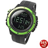 LAD WEATHER watch for outdoor sports heights humidity temperature made in Germany unisex lad004gr green