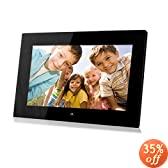 Sungale PF1501 14-Inch Full Function Digital Photo Frame (Black)