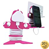 Mi Cable Tidy Pink - Cable Organizer and Stand for iPhone, iPad, Cellphone, Tablet, Smartphone, Nintendo DS, Sony PSP and Mobile Phone Devices