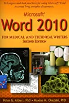 Microsoft Word 2010 for Medical and…