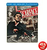 Scarface (1983) (Steelbook) (Blu-ray + DVD + Digital Copy + UltraViolet)
