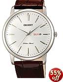 Orient Capital Quartz Analog Dress Watch with Day and Date Window UG1R003W