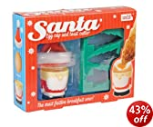 NOKI Santa Egg Cup and Toast Cutter