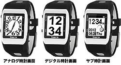 普段使いにしたくなるデザインの時計表示