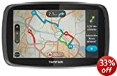 TomTom GO 6000 EU 6-Inch Sat Nav with Full European Lifetime Maps, Lifetime Traffic Updates, Always Connected and Interactive Screen Includes Click & Mount Car Charger and USB Cable