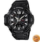 G-Shock GA-1000FC-1A G-Aviation Series Men's Stylish Watch - Black / One Size