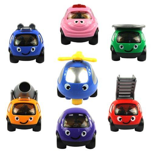 儿童卡通回力车玩具