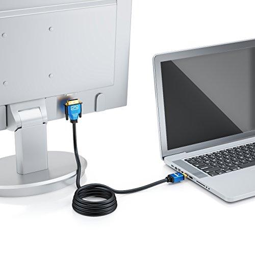 deleyCON Premium HDMI zu DVI Kabel (High Speed)